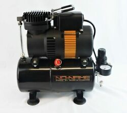 Tooty Airbrush Compressor by NO NAME Brand with air tank piston type new motor $130.00