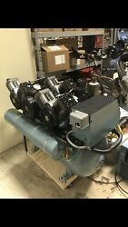 Air Techniques Airstar 70 AS70 Oil less TripleHead Dental Compressor REFURBISHED $6800.00