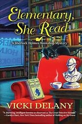 Elementary She Read Hardcover by Delany Vicki Brand New Free shipping in...
