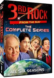3rd Rock from the Sun: The Complete Series (DVD 2013 17-Disc Set)