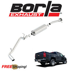 BORLA S-TYPE Cat-Back Performance Exhaust Kit For 2015-2019 Chevy Colorado 3.6L