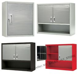 Garage Workshop Tool Box Commercial Steel Locking Wall Cabinet Shelf Storage