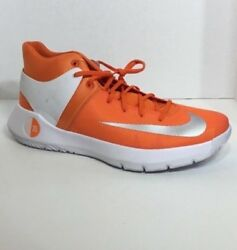 Men's Nike Orange White Kd Trey5 Kevin Durant Basketball  Sneakers Size 17