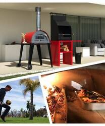 Outdoor Wood Fired Pizza Oven. complete your Garden Brick Barbecue Grill BBQ