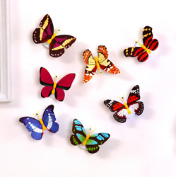 Colorful Changing Butterfly LED Night Light Lamp Home Room Party Desk Wall Decor $15.15