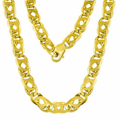 14K Gold Handmade Fancy Chain Necklace (Available in diff. Gold Color
