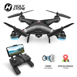 Holy Stone HS110G Drone with 1080P HD Camera Wide Angle FPV RC Quadcopter GPS $73.90