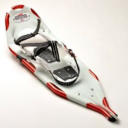 Redfeather V TAIL 25 in. SnowShoes Made in USA White Vinyl Decking w RedFrames $84.99