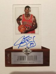 2012-13 LIMITED JIMMY BUTLER RC ON CARD AUTO #D 99149