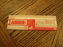 Vintage Anso Nylon Carpet Cost Calculator Tool 6-12