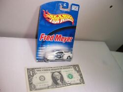 Hot Wheels White Fred Meyer Tail Dragger 1998 $9.99