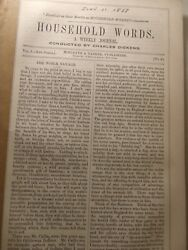 Charles Dickens Household Words Mahommedan Mother DUNKERQUE TOWER 1853 NR