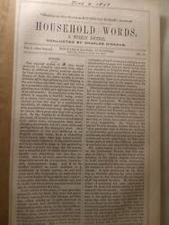 Charles Dickens Household Words A Child's History of England June 4 1853 NR