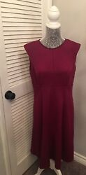 Adrianna Papell burgundy cocktail long dress size 12 $22.00
