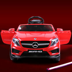 Kids Ride On Car Mercedes Benz Licensed Electric Toy w Control Carry Handle MP3 $127.99