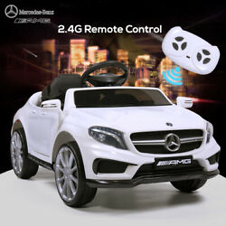 Kids Electric Ride On Car Mercedes Benz Licensed Remote Battery Operated Toy $137.99