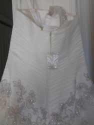 Oleg Cassine Elegant Wedding Dress Size 4