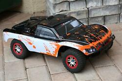 Custom Body WB Orange for Traxxas 1/10 Slash 4x4 VXL Slayer Shell Cover 6811 $34.98