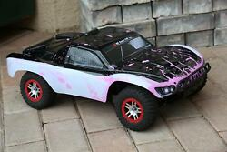 Custom Body WB Muddy Pink for Traxxas 1/10 Slash 4x4 VXL Slayer Shell Cover $34.98