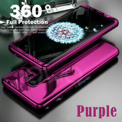 360° Plating Mirror Case Full Hybrid Shockproof Hard Cover For Samsung Galaxy