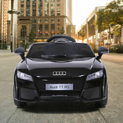 Electric Car Audi TT RS Kids Ride On 12V With Remote Control MP3 LED Lights $142.99
