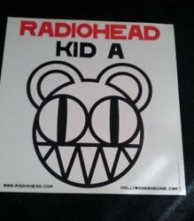 Radiohead Kid A Album Art Modified Bear Promo Poster Double Sided 2000 $50.00