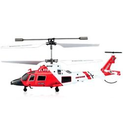 3.5 Channel Remote Control Helicopter Military RC Helicopter Mini Drone w Gyro $49.99