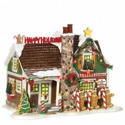 Dept 56 Snow Village ~ The Gingerbread House ~ Mint In Box 799933