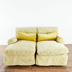 Pair Of Nonnamaria Upholstered Chaise Lounges