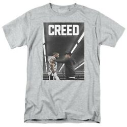 Creed with Rocky in the Ring Mens Adult Unisex T-Shirt - Available in sm or xxL