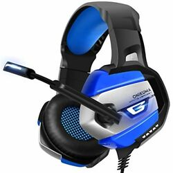ONIKUMA Stereo Gaming Headset for PS4 Xbox One PC Enhanced 71 Surround Sound