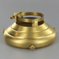 SOLID BRASS 3 1 4quot; Clamp On Lamp Shade Holder PORCELAIN Socket #GB157 $15.78