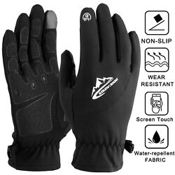 Ultra Thin Liner Under Gloves Winter Soft Thermal Fleece Touch Driving Cycling $10.55