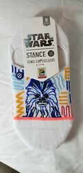 SDCC 2018 Exclusive Limited Stance Star Wars Socks Chewbacca and Boba Fett wmn $18.95