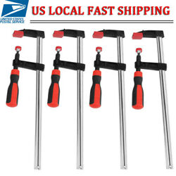 4pcs Heavy Duty Quick Grip F woodworking Clamp Clip Wood Carpenter Tool Clamp US