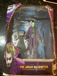 2013 THE JOKER HELICOPTER THE DARK NIGHT TRILOGY IN DAMAGED BOX $21.99