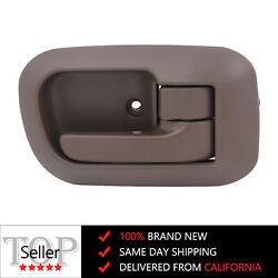 For 1998-2003 TOYOTA Sienna Door Handle Brown Interior Inside Front Right Side