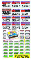 MAGIC SING KARAOKE MIC 3 TAGALOG SONG CHIPS of your choices BUNDLE PACK SALE