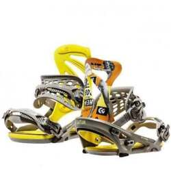snowboarding snowboard bindings FLUX DS color black yellow heritage sizes S M L $269.00
