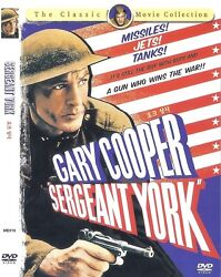 Sergeant York (1941)  Howard Hawks  Gary Cooper DVD NEW *FAST SHIPPING