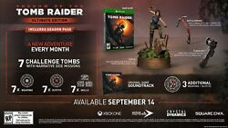 SHADOW OF THE TOMB RAIDER ULTIMATE COLLECTORS EDITION [Xbox One] READY TO SHIP!