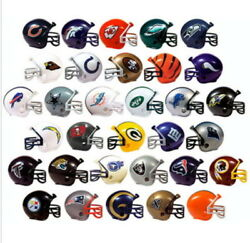 MINI NFL FOOTBALL HELMETS COLLECTIBLE COMPLETE SET OF ALL 32 TEAMS Fast Ship $9.99