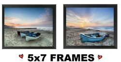 💗 5x7 Beach Pictures Sail Boats Water Ocean Beach Sunset Wall Hangings