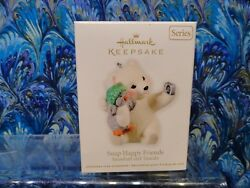 Hallmark Ornament 2011 Snap Happy Friends Snowball and Tuxedo NEW NEVER OPENED