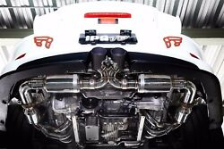 PORSCHE 991  991.2 911 GT3  RS Stainless Series iPE Exhaust FULL System