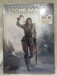 Rise of Tomb Raider Collector's Edition Strategy Guide Sealed w Keychain Prima