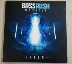 Bassrush Massive: The Album - Vinyl LP (EXTREMELY RARE 1 OUT OF 1 PRESSING)