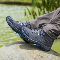 Mens Hiking Outdoor Trail Trekking Mountain Climbing Shoes Sneakers Ankle Boots $39.55