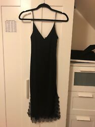 HM black Dress With Lace $12.00
