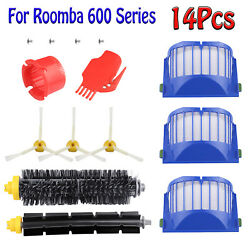 Replacement Parts Kit For iRobot Roomba 600 Series Vacuum Filter Brush Cleaner $11.49